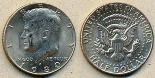 Курс доллара в 1980 году
